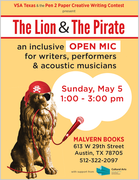 The Lion & The Pirate Open Mic