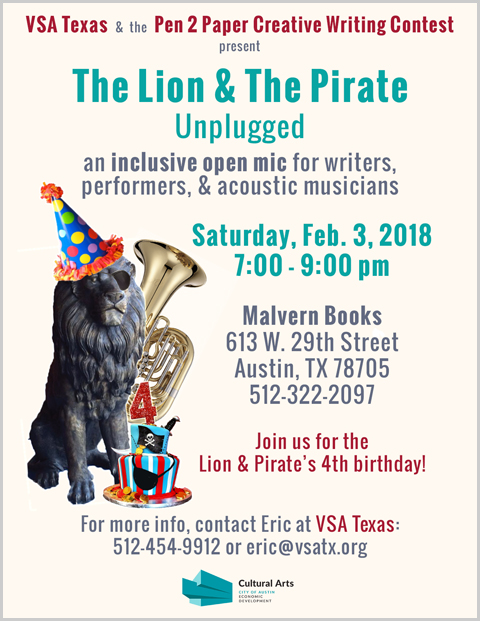 The Lion & The Pirate Unplugged: 4th Birthday Edition
