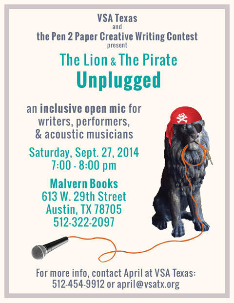 Lion and Pirate Open Mic