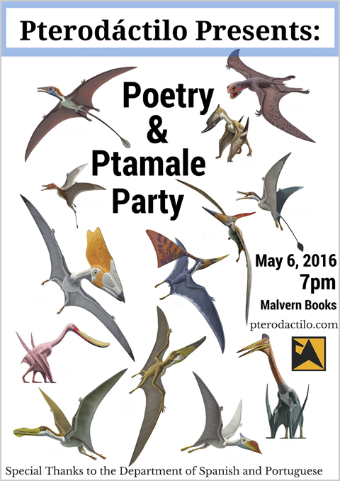 Pterodáctilo Poetry & Ptamale Party
