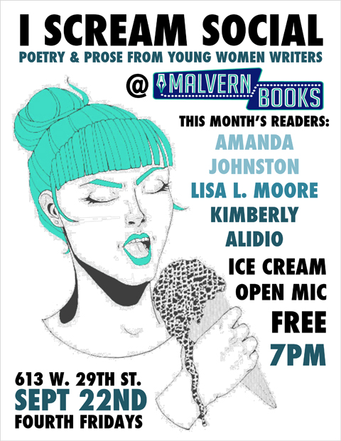 I Scream Social Reading & Open Mic