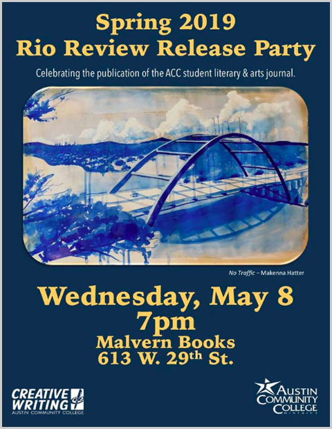 ACC Creative Writing Literary Release Party